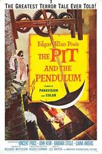 """The pit and the Pendulum, Movie Poster Replica 13x19"""" Photo Print"""