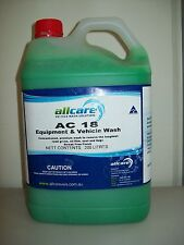 New AC18 Car Truck Motorbike Wash - 5lt - Outperforms CT18 Cleans all surfaces