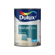 Dulux Matt Emulsion Paint - Feature Wall - Teal Tension - 1.25L