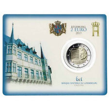 "Luxemburg 2 euro "" National Hymne"" 2013 BU Coincard Commemorative - In Stock!"