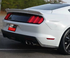 "Ford Mustang 2015+ Lip Mount ""Racing Style"" Rear Spoiler Primer Finish USA Made"