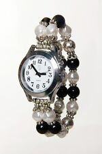 Lady's Talking Alarm Watch Silver Tone Time,Month,Day,Date
