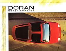 Print. 1992 Doran Motor Company Three Wheeler - Auto Ad