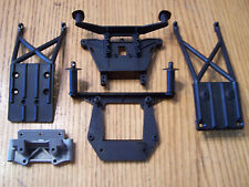 Traxxas 1/10 2wd Slash Shock Towers Body Mounts Skid Plates Bulkhead VXL XL-5
