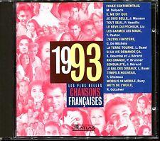 LES PLUS BELLES CHANSONS FRANCAISES - 1993 - CD COMPILATION ATLAS