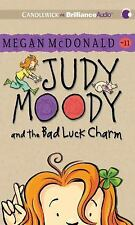 Judy Moody and the Bad Luck Charm (Book #11) by Megan McDonald (2013, CD,...
