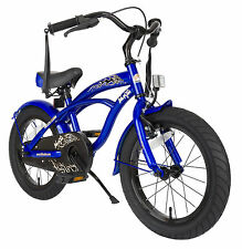 bike*star 40.6cm (16 Zoll) Kinder-Fahrrad Cruiser - Blau