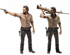 The Walking Dead: Rick Grimes Deluxe Action Figure - McFarlane Toys 10 inch NEW