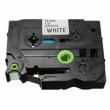 1pc Black on White Label Tape For Brother TZ-231 TZe 231 P-Touch Labeling Maker