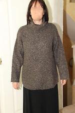 joli pull laine mohair col cheminée PENNY BLACK taille L (42-44)  EXCELLENT ÉTAT