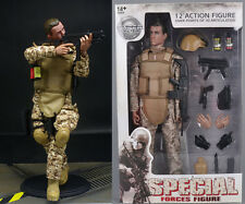 "12"" Desert Camo ACU Special Forces Soldier Super System Model 1/6 Figure Cosplay"