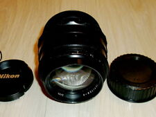 Jupiter 9 BLACK 2/85mm SONNAR lens NIKON F mount INFINITY IS   #7810885