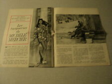 A050 MICHELE MERCIER '1969 FRENCH CLIPPING
