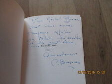 CHRISTIANE BEAUQUENEY exclamations  + envoi  barre & dayez 1998 poesie