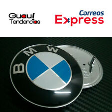 Emblem Stemma Logo BMW Bonnet Boot 82mm Blue White 2 Pins Serie Fregio Cofano