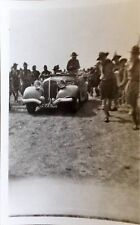 Original BW Photograph Baden Powell At 1937 Boy Scout World Jamboree Netherlands