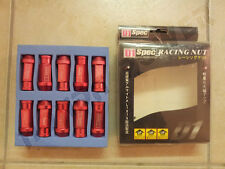 D1 Spec RED Racing Lug Wheel Nuts x20 JDM Screw 1.5  Honda Ford Toyota