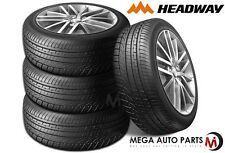 4 X New Headway HU901 LT195/45R16 84V Luxury Ultra High Performance Tires