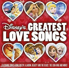 Disney's Greatest Love Songs - CD NEW & SEALED  Frozen , Aladdin , Lion King