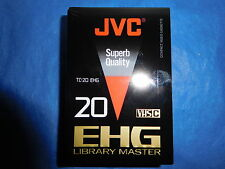 JVC TC20 EH VHS C Blank Camcorder Video Cassette Tape Japan TC-20 LIBRARY M