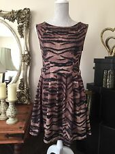 NEW LOOK Animal Print Ladies Dress BNWT RRP £24.99 Size 10