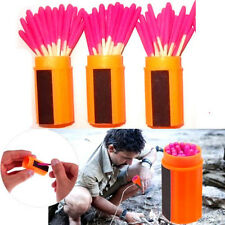 60Pcs Waterproof Windproof Survival Emergency Light Storm Matches Match 2016 WWA