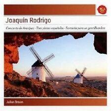 JULIAN BREAM - CONCIERTO DE ARANJUEZ/TRES PIEZAS ESPANOLAS  CD NEU