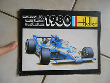 Ancien Catalogue Miniature Heller 1980 Voiture Jouet Collection Avion Camion