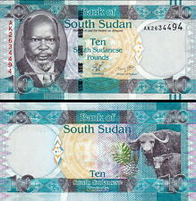SUD-SUDAN South-Sudan - 10 pounds 2011 FDS - UNC