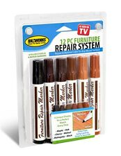 Total Furniture Repair Markers System12 piece Kit Filler Touch-ups AS SEEN ON TV
