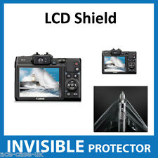 Canon Powershot G16 Camera INVISIBLE LCD Screen Protector Shield