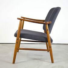 Danish Modern Teak Arm Chair w/ new fabric 60s Denmark | Mid Century Sessel 60er