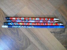 Advertising Pencils Lot Marvel Avengers Batman Cool Racers Gaskits Vitoline etc