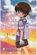 STAR COMICS THE WORLD GOD ONLY KNOWS VOLUME 7