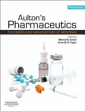 AULTON'S PHARMACEUTICS - NEW PAPERBACK BOOK
