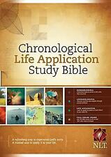 Chronological Life Application Study Bible NLT (2012, Hardcove (FREE 2DAY SHIP)