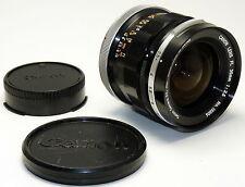 CANON Objektiv FL 2,5/35 - 1:2,5 35mm für CANON FD