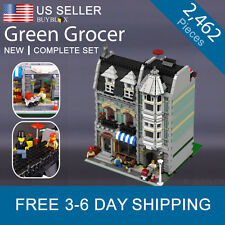 Green Grocer Compatible with LEGO 10185 Modular Building Creator City