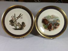 Lenox Plate Beavers Woodland Wildlife Series by Boehm 1977 Collectible