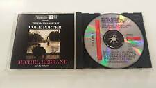 MICHAEL LEGRAND AND HIS ORCHESTRA THE COLUMBIA ALBUM OF COLE PORTER CD 1991