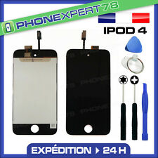 VITRE TACTILE + ECRAN LCD ASSEMBLÉ IPOD TOUCH 4 4TH NOIR