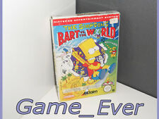 THE SIMPSONS BART VS THE WORLD - NINTENDO NES - VERSION PAL B
