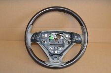 03-06 VOLVO XC90 T6 V8 2.5T STEERING WHEEL GREY WITH WOOD GRAIN OEM USED #2