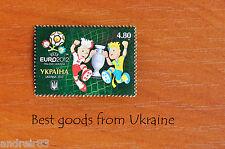 UEFA EURO 2012 Stamp Ukraine SLAVEK & SLAVKO TALISMANS of EURO MNH 2012