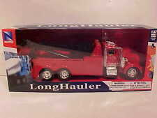 Kenworth w900 Tow Truck Semi Truck Wrecker 1:32 New Ray 12 inch Red