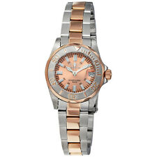 Invicta Sapphire Lady Diver Rose Gold-Tone Dial Two-Tone Ladies Watch 7067