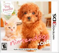 Nintendogs + Cats: Toy Poodle and New Friends [Nintendo 3DS, Pet Video Game] NEW