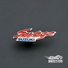 Suzuki Savage Ls 650 Boulevard S40 moto metal badge pin