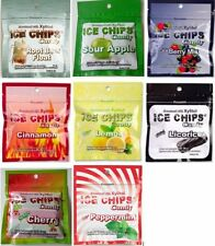 ICE CHIPS Candy in Resealable Pouches - 8 pack Assortment