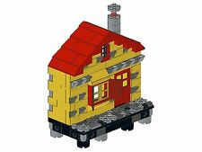Lego - Old Town - F06 - Haus III (gerade - gelb)